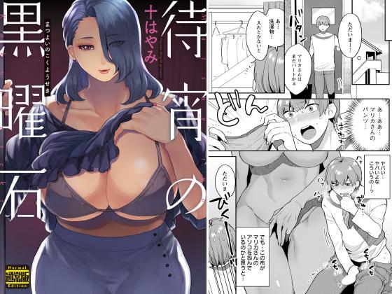 【新着マンガ】待宵の黒曜石(通常版)のトップ画像