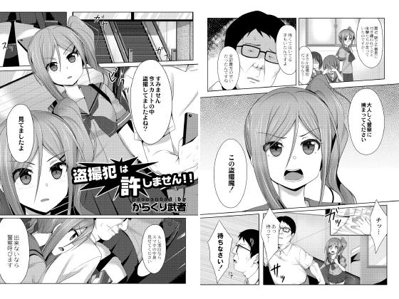 【新着マンガ】盗撮犯は許しません!!のトップ画像